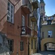 Stock Photo: Tenement house at Warsaw's Old City
