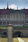 Royal Castle in Warsaw. North facade. — Stock Photo