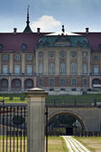 Královský hrad ve varšavě. severní fasáda. — Stock fotografie
