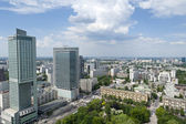 Panorama of Warsaw City — Stock Photo