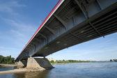Modern bridge in Warsaw — Foto de Stock