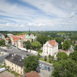Panorama of Sandomierz city, Poland - Stock Photo