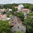 Panorama of Sandomierz city in Poland — Stock Photo