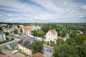 Panorama of Sandomierz city, Poland — Stock Photo