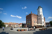 Panorama of Old Town in Sandomierz, Poland — Stock Photo