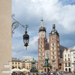 Stock Photo: Mariacki Church in Krakow, Poland