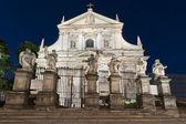 Fasada barokowy kościół świętego piotra i pawła w krakowie — Zdjęcie stockowe
