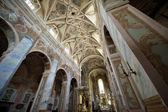 Interior of Saint Martin's Church in Opatow — Stock Photo