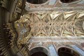 Interior of Saint Martin's Church in Opatow, Poland — Stock Photo