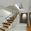 Modern interior corridor design - Stock Photo