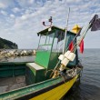 Fishing boat in Gdynia Orlowo — Stock Photo