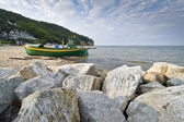 View of the cliff in Gdynia — Stock Photo