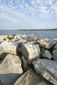 View of the pier — Stock Photo