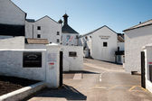Bowmore distillery — Stock Photo