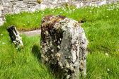 Old headstone — Stock Photo