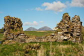 Paps of Jura and Finlaggan — Stock Photo