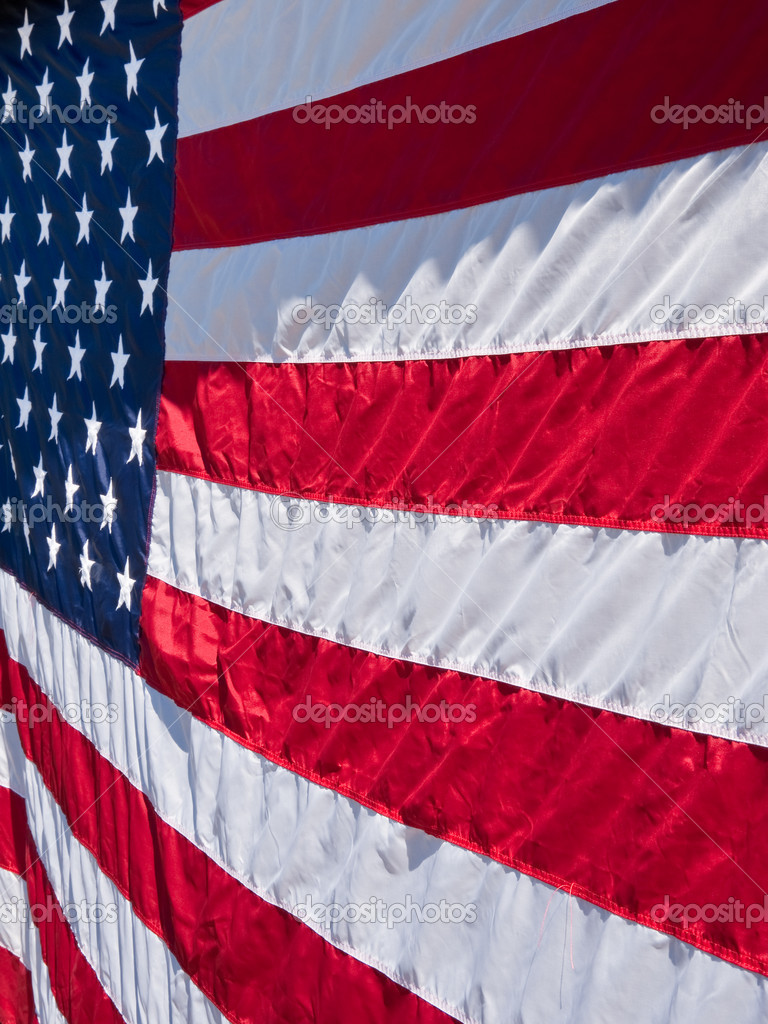 Flag of the United States of America  Stock Photo #6059895