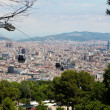 Stock Photo: Teleferic de Montjuic