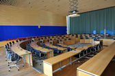 An empty conference room — Stockfoto