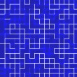 Labyrinth, abstract technology background — Stockfoto