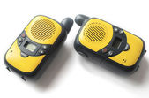 Walkie talkie on white background — Stock Photo