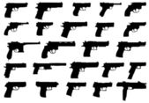 Pistols — Stock Vector