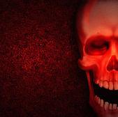Skull Background — Stock Photo
