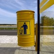 Stock Photo: Refuse bin
