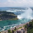 Niagara Falls. View on Horseshoe Waterfall from Canadian Side — Stock Photo