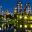 Calgary at Night — Stock Photo