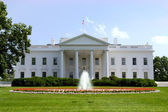 White House. Official residence and principal workplace of the P — Stock Photo