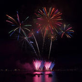 Celebration of Light - Vancouver's International Fireworks Compe — Stock Photo