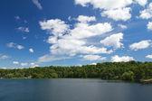 Cloudy Sky under 1000 Islands, Ontario, Canada — Stock Photo