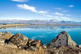 Lake Pukaki, New Zealand — Stock Photo