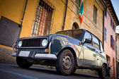 Old car on the street in Italy — Stock Photo