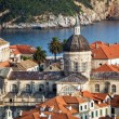 Dubrovnik old town view — Stock Photo