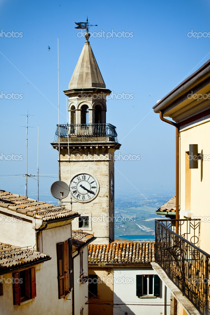 Borgo Maggiore, the city in San Marino — Stock Photo #6174523