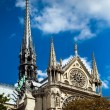Stock Photo: Notre Dame de Paris, Paris, France