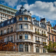 Typical french architecture facades, Paris — Stock Photo #6636543