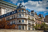 Typical french architecture facades, Paris — Stock Photo