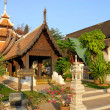 Buddhist temple in Thailand - 图库照片