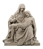 Statue of Mary mourning for Jesus Christ — Stock Photo