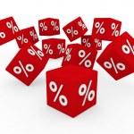 3d sale cube — Stock Photo #5398999
