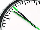 3d verde del tiempo — Foto de Stock