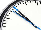 3d-tijd blauw — Foto de Stock