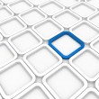 Stock Photo: 3d background arecube