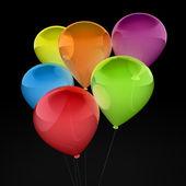 3d ballon colorful — Stock Photo