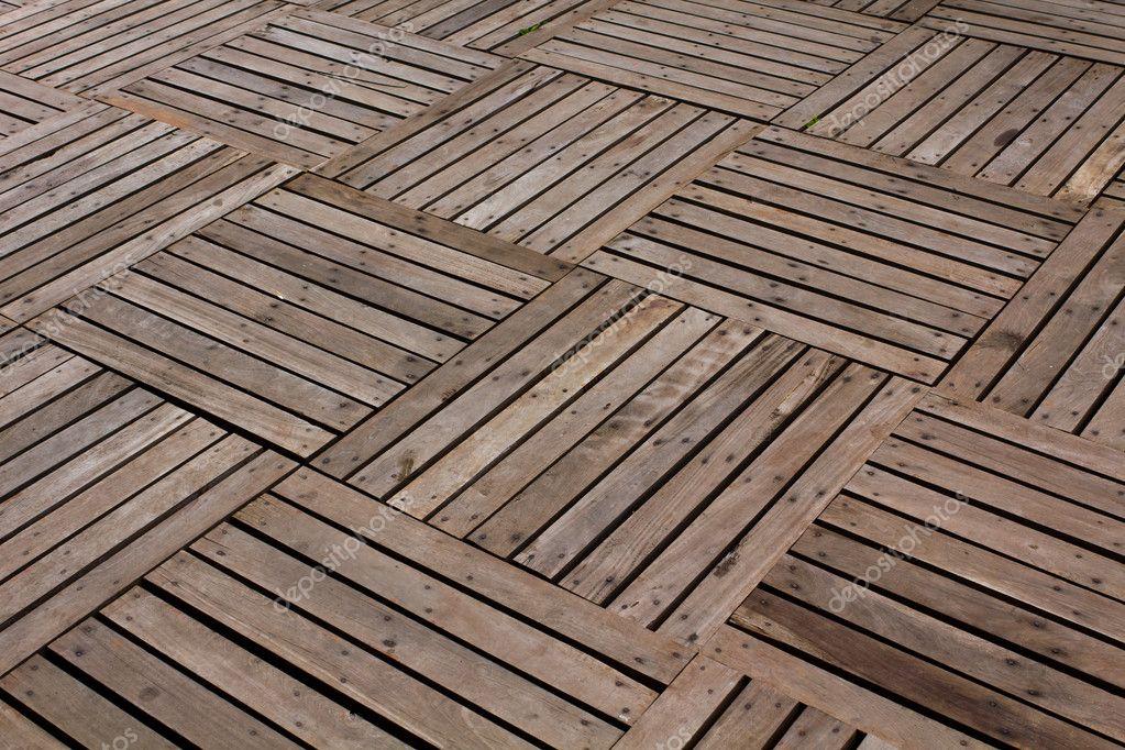 Modelli e texture di un pavimento di assi di legno — Foto Stock ...