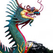 Colorful dragon statue in temple - ストック写真
