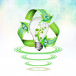 Eco bulb - Stock Vector